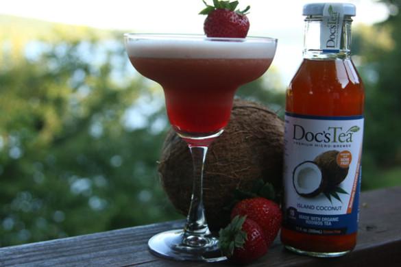 Recipe: Strawberry Coconut Margarita