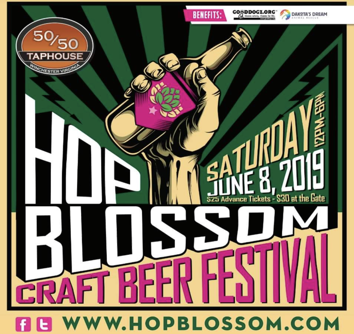 2019 Hop Blossom Craft Beer Festival